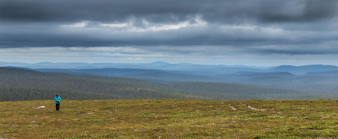 Untouched wildernes of Lapland