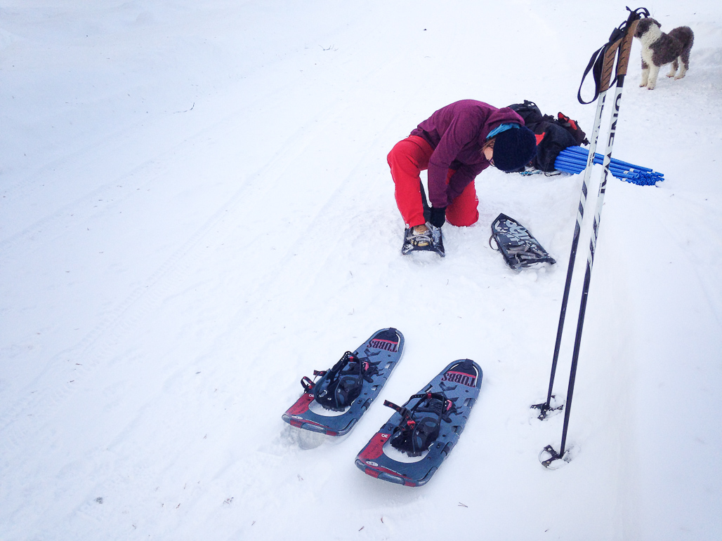 Ylläs is heaven for snowshoeing