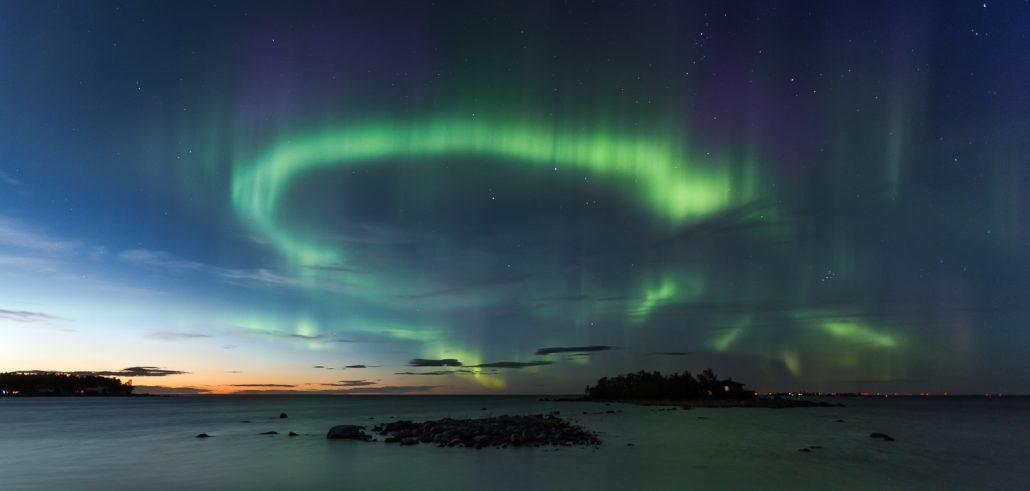 how to take good night sky photos