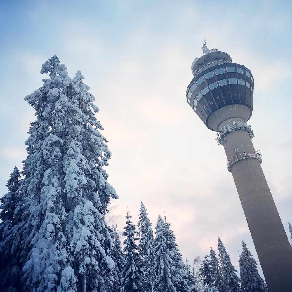 Puijo Tower at Kuopio. Photo: Upe Nykänen